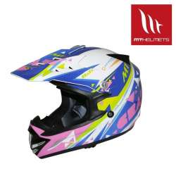 CASQUE CROSS ENFANT MT HELMET MX2 CRAZY MULTICOLOR SCOOTER QUAD