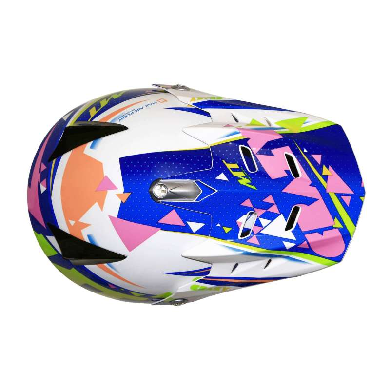 casque cross enfant mt helmet mx2 crazy multicolor scooter. Black Bedroom Furniture Sets. Home Design Ideas