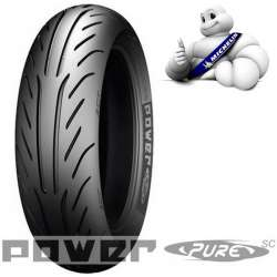 PNEU AVANT ARRIERE NEUF MICHELIN POWER PURE SC 2CT 130/60-13 60 P TL RENFORCE