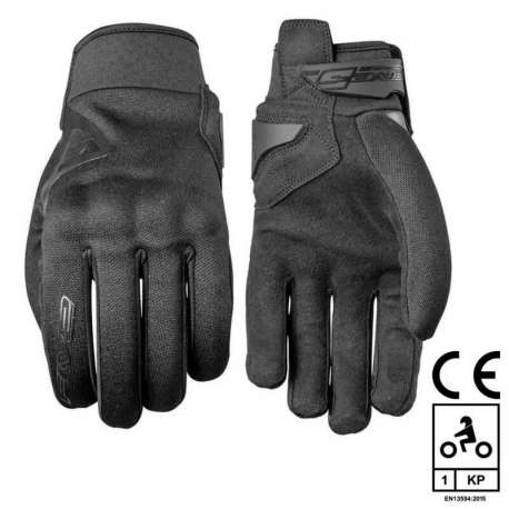 gants moto noir five globe coqu homologu en 13594 2015 scooter ebay. Black Bedroom Furniture Sets. Home Design Ideas
