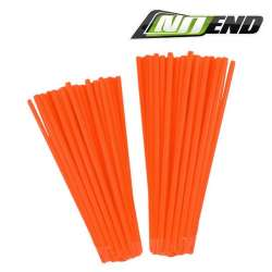 COUVRE RAYONS NOEND ORANGE FLUO 76 PIECES JANTE ROUE MOTO CROSS ENDURO MECABOITE