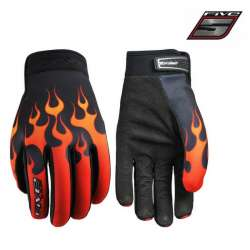 Gants FIVE Planet Fashion Flaming moto cross vélo VTT