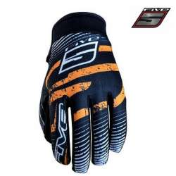 Gants FIVE Planet Fashion Orange moto cross vélo VTT