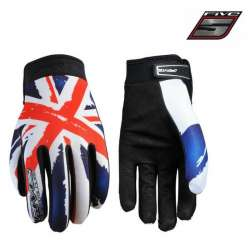 Gants FIVE Planet Patriot Angleterre moto cross vélo VTT