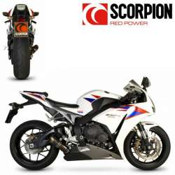 SILENCIEUX POT ECHAPPEMENT SCORPION RP1-GP CARBONE MOTO HONDA CBR 1000 RR 2012-2013