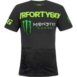 T-SHIRT HOMME VRFORTYSIX COLLECTION VR46 DE MONSTER ENERGY