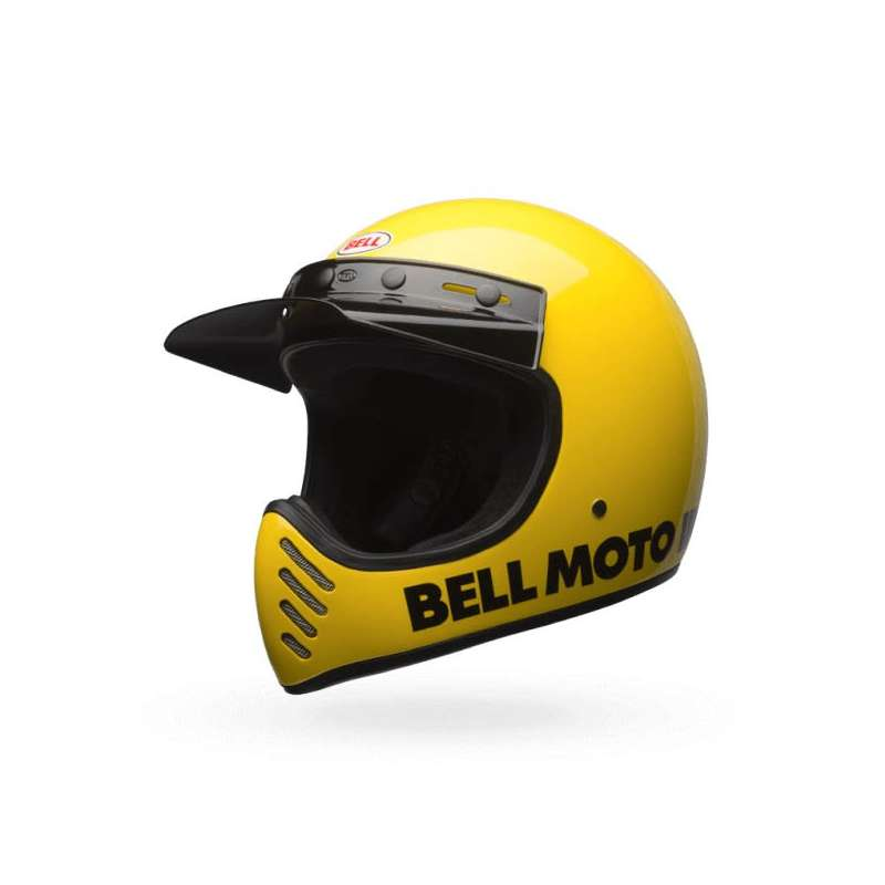 casque moto cross bell moto 3 classic jaune vospieces2roues. Black Bedroom Furniture Sets. Home Design Ideas