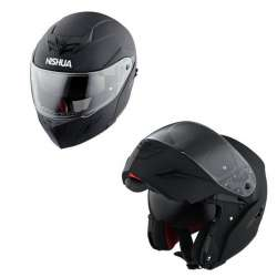 CASQUE INTEGRAL MODULABLE MOTO SCOOTER NISHUA NFX-2 NOIR MAT