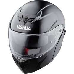 CASQUE INTEGRAL MODULABLE MOTO SCOOTER NISHUA NFX-2 NOIR