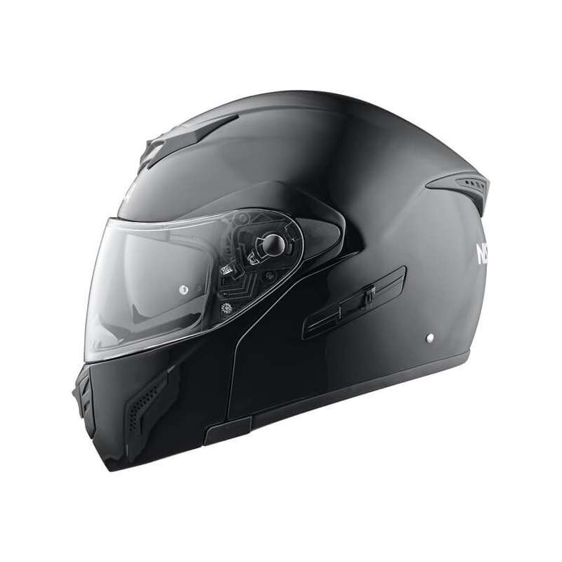 casque integral modulable moto scooter nishua nfx 2 noir. Black Bedroom Furniture Sets. Home Design Ideas