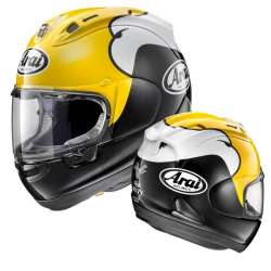 CASQUE MOTO INTEGRAL ARAI RX-7V KENNY ROBERTS YELLOW