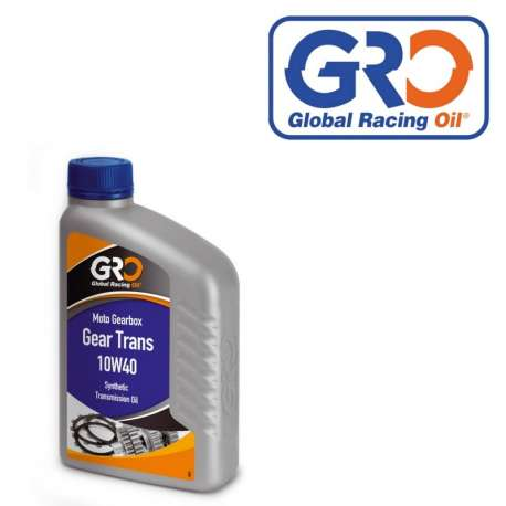 HUILE DE TRANSMISSION GRO GLOBAL RACING OIL GEAR TRANS 10W40 SYNTHETIQUE 1L