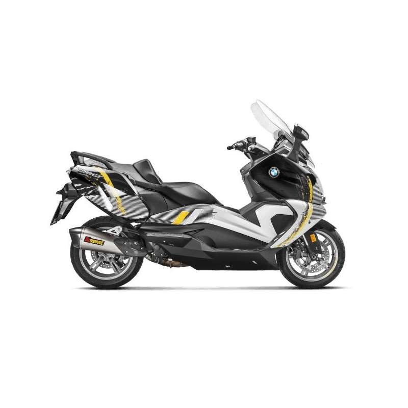 silencieux akrapovic titane maxi scooter bmw c 650 gt 2016 2018 vospieces2roues. Black Bedroom Furniture Sets. Home Design Ideas