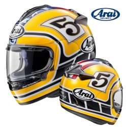 CASQUE MOTO INTEGRAL ARAI CHASER-X EDWARDS LEGEND YELLOW JAUNE