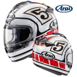 CASQUE MOTO INTEGRAL ARAI CHASER-X EDWARDS LEGEND WHITE BLANC