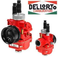 CARBURATEUR ORIGINE DELLORTO 19 PHBG DS 2911 MONTAGE SOUPLE RACING RED LABEL