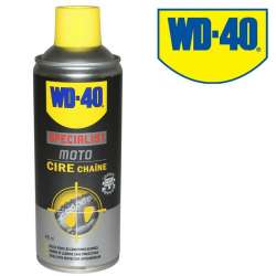 WD-40 CIRE GRAISSE CHAINE 400 ml O-X-Z RING CONDITIONS HUMIDES MOTO CROSS QUAD