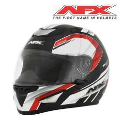 CASQUE MOTO INTEGRAL AFX AIRSTRIKE FX95 NOIR ROUGE FINITION BRILLANT