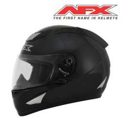 CASQUE MOTO INTEGRAL AFX FX95 SOLID NOIR BRILLANT