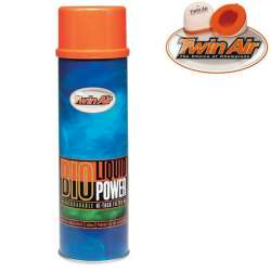 Huile pour filtre à air Twin air Bio Liquid Power spray 500 ml moto cross mx quad