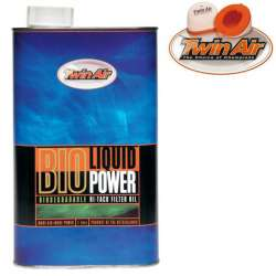 Huile pour filtre à air Twin Air Bio Liquid Power bidon 1 L moto cross mx quad