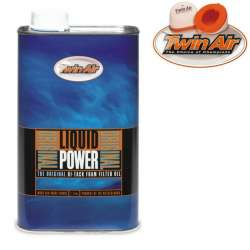 Huile pour filtre à air Twin Air Original Liquid Power bidon 1L moto cross quad