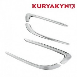 ENJOLIVEUR DE RADIATEUR CHROME KURYAKYN HONDA GL1800 GOLDWING 01-10