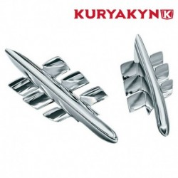 CALANDRE CHROME POUR CARENAGE KURYAKYN HONDA GL1800 GOLDWING 01-10