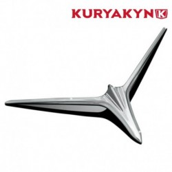 INSERTS CHROME EYEBROW KURYAKYN HONDA GL1800 GOLDWING 2001-2010