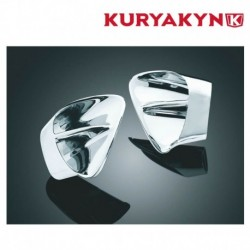 INSERTS CHROME VENTILATION DE CARENAGE KURYAKYN POUR HONDA GL1800 GOLDWING 03-10