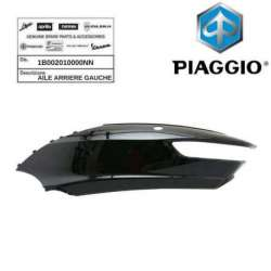 AILE ARRIERE GAUCHE NOIR 91/B ORIGINE PIAGGIO 1B002010000NN MP3 300 BUSINESS