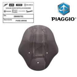 PARE BRISE GRIS 760/B ORIGINE PIAGGIO 2B000701 MP3 300 BUSINESS 2014 -2017