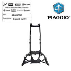SUPPORT CHASSIS AVANT ORIGINE PIAGGIO 2B0007715 MP3 300 BUSINESS 2014 -