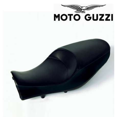 SELLE GEL CONFORT NOIRE POUR MOTO GUZZI CALIFORNIA 1400 CUSTOM