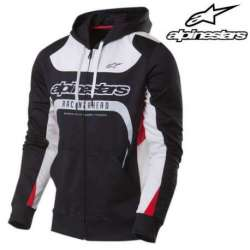 Veste sweat à capuche homme Alpinestars Session noir
