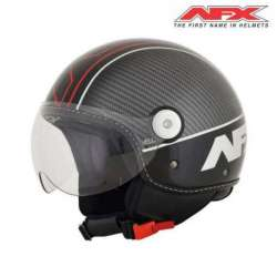 CASQUE JET AFX SCOOTER FX33 VELOCE GLOSS NOIR/ROUGE