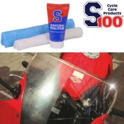 KIT POLISH EFFACE RAYURE 50ml S100 MOTO MAXI SCOOTER QUAD MECABOITE