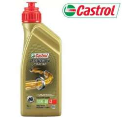 1L HUILE MOTEUR 4 TEMPS 10W40 100% SYNTHESE CASTROL POWER 1 RACING MOTO SCOOTER