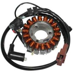 STATOR ALLUMAGE 18 POLES 350W GP1 MADISON NEXUS BEVERLY MP3 VESPA GTS X-EVO X8