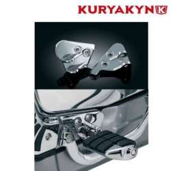 FIXATIONS POUR REPOSE-PIEDS PILOTE CHROME KURYAKYN POUR HONDA GL1800 GOLD WING