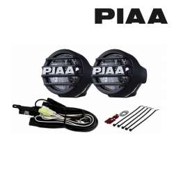 KIT COMPLET 2 ANTIBROUILLARDS LAMPE A LED BLANCHE PIAA LED 530 ø 86 x 74 mm MOTO