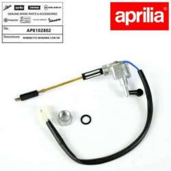 ROBINET ESSENCE CARBURANT ORIGINE APRILIA RS 125 DE 1992 A 1998 BROCHE 2 FILS