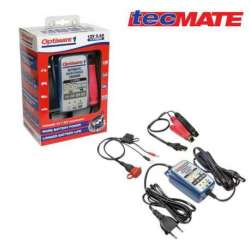 CHARGEUR AUTOMATIQUE BATTERIE 12V 2 Ah à 30 Ah TEST ENTRETIEN OPTIMATE 1+ TM402