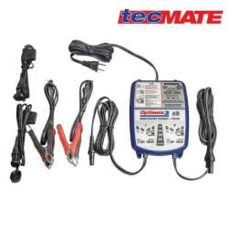 CHARGEUR AUTOMATIQUE MOTO BATTERIE 12V 3 Ah à 50 Ah OPTIMATE 3 X 2 SORTIES TM450