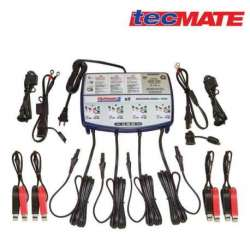 CHARGEUR AUTOMATIQUE MOTO BATTERIE 12V 3 Ah à 50 Ah OPTIMATE 3 X 4 SORTIES TM454