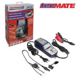 CHARGEUR AUTOMATIQUE MOTO BATTERIE 12V 3Ah à 50Ah OPTIMATE 4 DUAL PROGRAM TM340