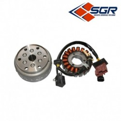 STATOR ALLUMAGE SGR 18 POLES APRILIA 125 SCARABEO LIGHT CARBURATEUR 2009-2010