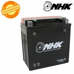 BATTERIE MF SANS ENTRETIEN YTX20A-BS NHK 12V 18Ah Lg145xL85xH160mm + PACK ACIDE