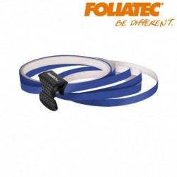 LISERET BLEU 6mm DE LARGE SUR 4x 2,15m DE LONG JANTE CARENAGE MOTO MAXI SCOOTER