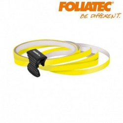LISERET JAUNE 6mm DE LARGE SUR 4x 2,15m DE LONG JANTE CARENAGE MOTO MAXI SCOOTER